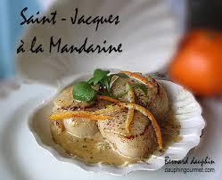 lq cuisine de bernard coquilles jacques a la mandarine le de bernard dauphin
