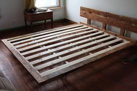 custom made headboard and bed frame wood and steel furniture