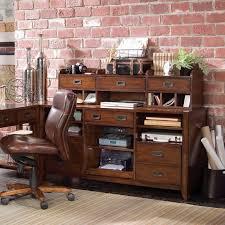 computer desk and credenza hooker furniture danforth open credenza desk reviews wayfair