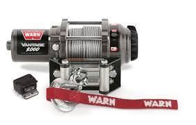 amazon com warn 89020 vantage 2000 winch 2000 lb capacity