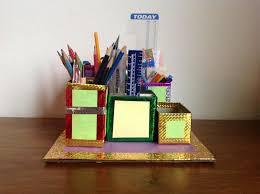 Craft Desk Organizer Easy Desk Organizer For And Craft 4 Steps