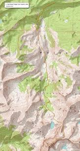 Colorado Fourteeners Map by 14ers Com U2022 Capitol Peak Route Description Northeast Ridge