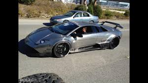 Lamborghini Murcielago Widebody - liberty walk lb performance lamborghini murcielago brushed aluminum