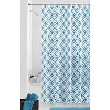 mainstays hadley teal peva shower curtain walmart
