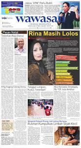 wawasan 24 desember 2013 by koran pagi wawasan issuu