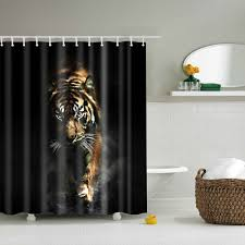 White Tiger Shower Curtain Compare Prices On Tiger Curtain Online Shopping Buy Low Price