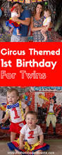 first birthday circus twins first birthday circus theme party circus theme party