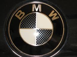logo bmw bmw logo decals carbon fiber look