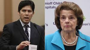state legislative leader de leon to challenge feinstein for senate