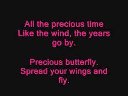 butterfly kisses by bob carlisle lyrics