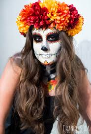 Makeup And Hair Las Vegas Sugar Skull Halloween Makeup In Las Vegas By Amelia C U0026 Co Hair