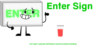 spooky halloween signs halloween exit sign u2013 festival collections