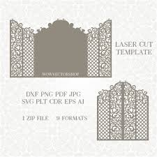 wedding invitation wedding templates svg dxf ai crd eps