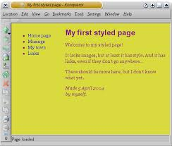 Html Top Navigation Bar Starting With Html Css