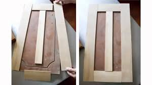 Shaker Door Style Kitchen Cabinets Resurface Cabinet Doors Youtube