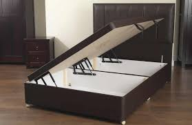 Leather Ottoman Bed Sweet Dreams Amber Ottoman Divan Base Only From The Sleep Station