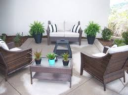 Patio Umbrellas San Diego San Diego Stained Concrete Patio Contemporary With Decorative