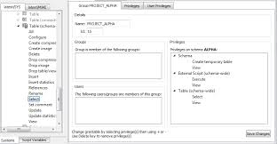 Create Temporary Table Kognitio Community Forum Creating Groups And Users With Console