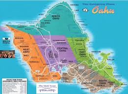 Scenic Route Map by O U0027ahu Hawaii Oahu Hawaii And Oahu Hawaii