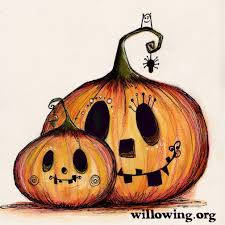 halloween how to draw pinterest illustrations