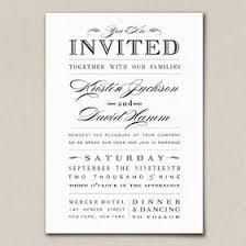 formal invitation wording wedding invitation wording our day