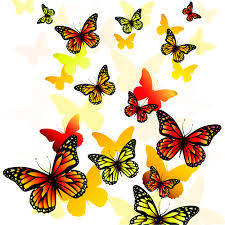 beautiful butterfly vector material 04 vector free