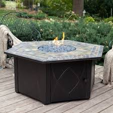 Patio Furniture With Gas Fire Pit by Patio Sets With Fire Pit Table Fire Pit Ideas