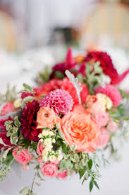 Wedding Flowers For September Coral Pink And Red Wedding Flowers Elizabeth Anne Designs The