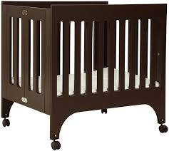 Emily Mini Crib by Bedroom Elegant Dark Wood Babyletto Grayson Mini Crib With Wheel