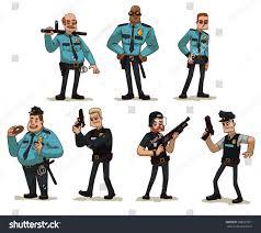 vector cartoon image set different men stock vector 368035931