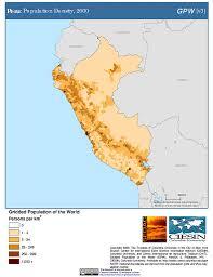 Peru On Map Map Gallery Sedac