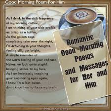 good morning love quotes romantic texts poems for him and her