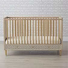 gorder latticework gray wood crib