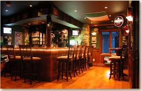 Home Bar Design Layout Entire Garage Space Converted Into This Amazing Irish Pub Style