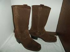 womens motorcycle boots size 11 frye suede motorcycle boots for ebay