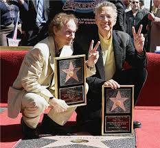 Hollywood Walk Of Fame Map Robby Krieger U0026 Ray Manzarek Of The Doors With Their Star On The