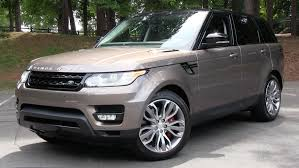 brown range rover 2015 range rover sport supercharged start up road test and in