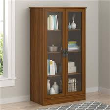 Shelves With Glass Doors by Ameriwood Furniture Glass Door Bookcase By Ameriwood Furniture