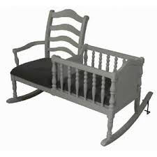baby rocking chair cradle bassinet white nursery furniture nanny
