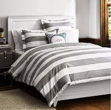 Girls Striped Bedding by Nice Grey And White Striped Bedding Design Ideas U0026 Decors