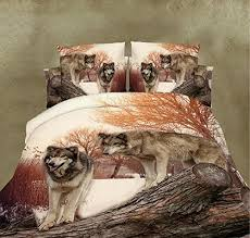 Wolf Bedding Set Bedding Blankets Archives Wolf Things