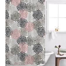 Gray And Pink Curtains Pink Shower Curtains You Ll
