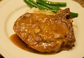 smothered pork chops crock pot recipes food baskets recipes