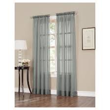 Washing Voile Curtains Crushed Sheer Voile Curtain Panel No 918 Target