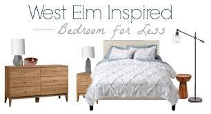 west elm bedroom mid century luxe west elm bedroom inspiration copycat look for less