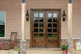 modern style french doors exterior with dwell in possibility