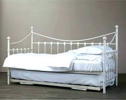 wrought iron daybed antique white wrought iron daybed u2013 hviezda club
