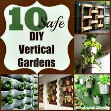 10 safe diy vertical gardens small garden ideas