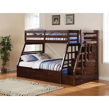 Single Over Single Or Double Bunk Bed Frame Only Mattress Depot - Double bunk beds