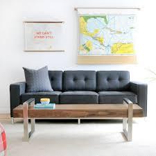 mid century modern baseboard living room furniture modern green mid century sofa with light
